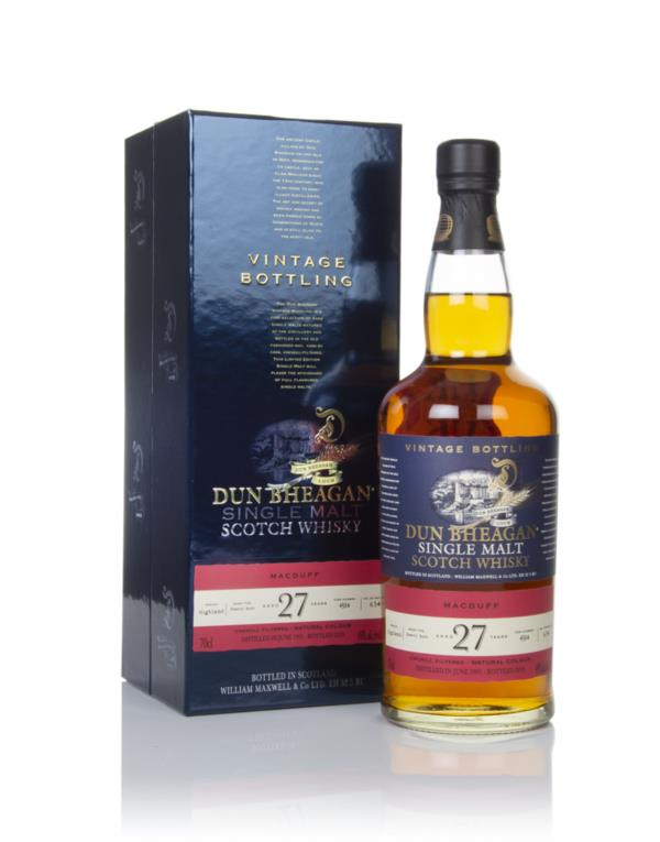 Macduff 27 Year Old 1991 (cask 4584) - Dun Bheagan (Ian Macleod) Single Malt Whisky