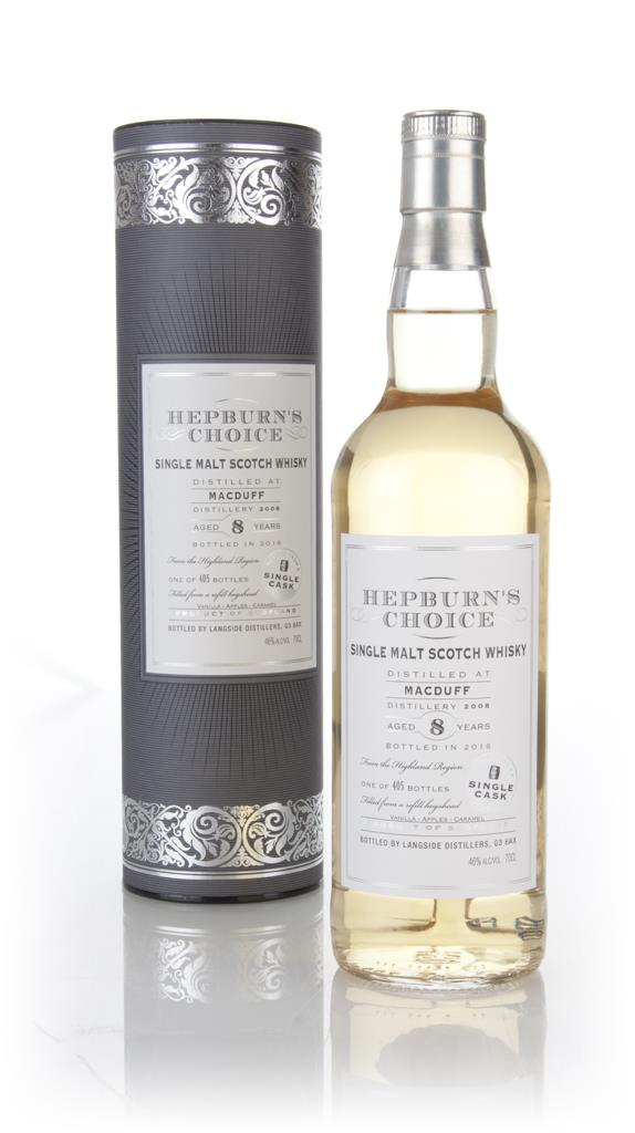 Macduff 8 Year Old 2008 - Hepburn's Choice (Langside) Single Malt Whisky