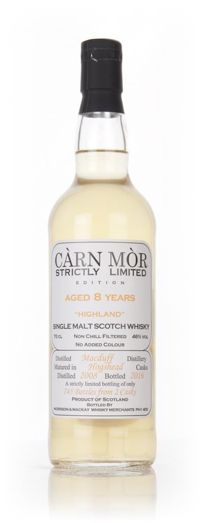 Macduff 8 Year Old 2008 - Strictly Limited (Carn Mor) Single Malt Whisky