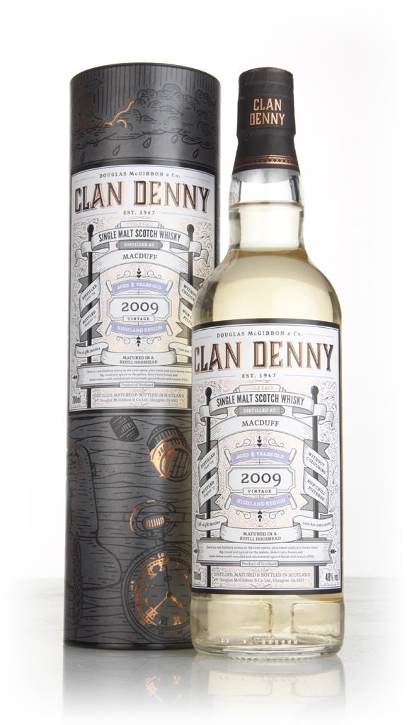 Macduff 8 Year Old 2009 (cask 12067) - Clan Denny (Douglas Laing) Single Malt Whisky