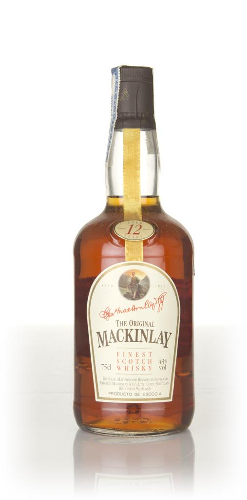 Mackinlays 12 Year Old Whisky - 1970s Blended Whisky
