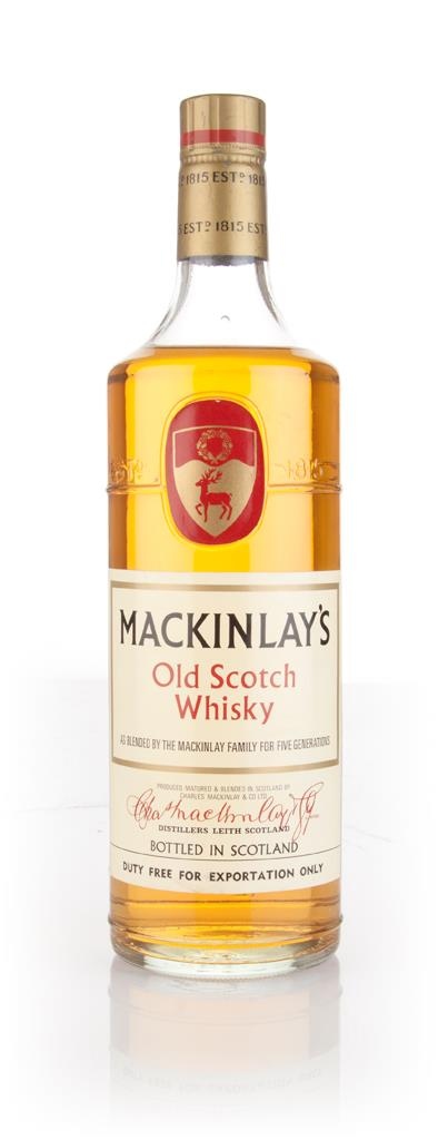 Mackinlays Old Scotch Whisky - 1970s Blended Whisky