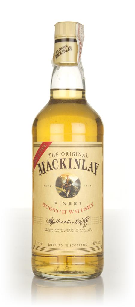 The Original Mackinlay (1L) - 1990s Blended Whisky