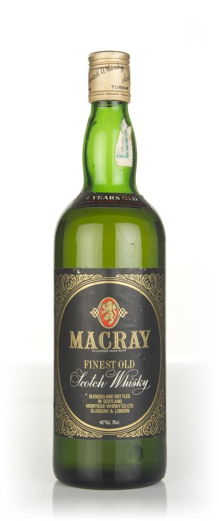 Macray 5 Year Old - 1970s Blended Whisky