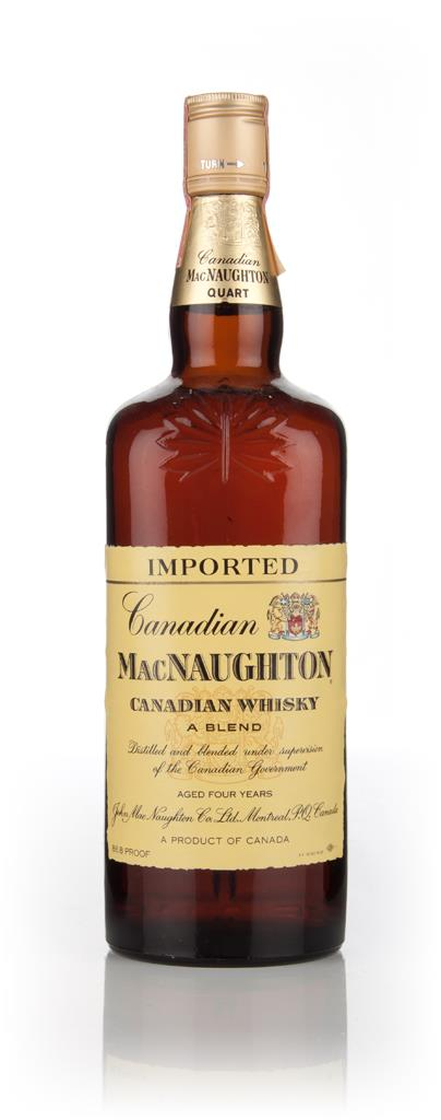 MacNaughton 4 Year Old 1970s Blended Whisky