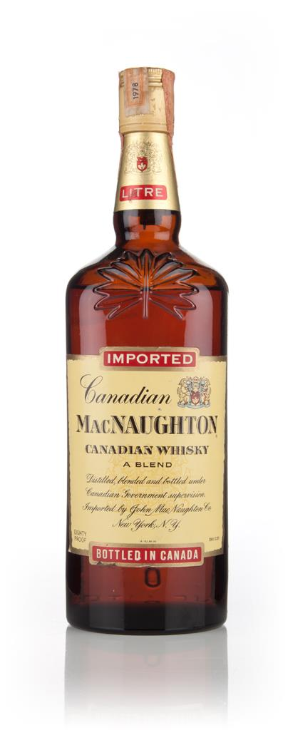 MacNaughton 4 Year Old - 1978 Blended Whisky
