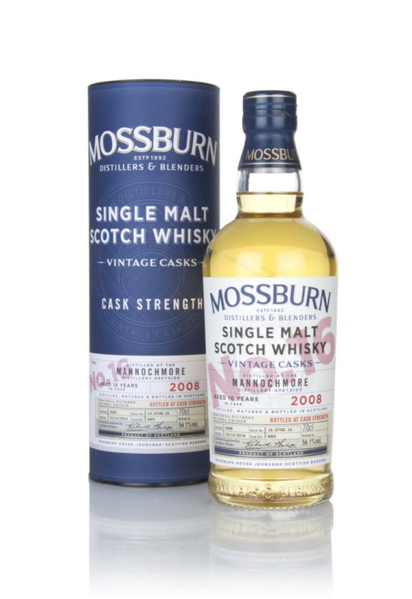 Mannochmore 10 Year Old 2008 - Cask Strength (Mossburn) Single Malt Whisky