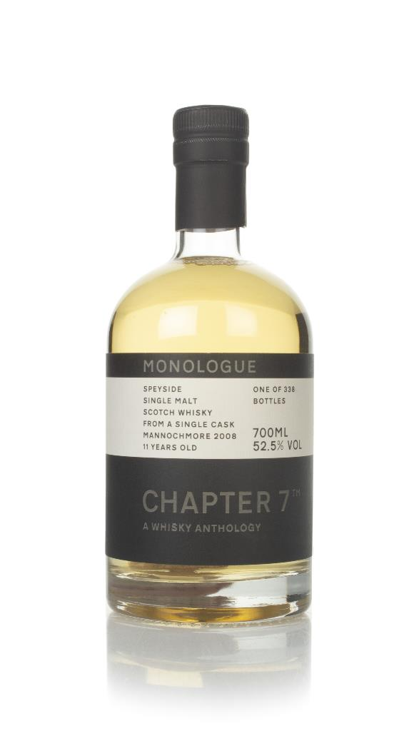 Mannochmore 11 Year Old 2008 (cask 16612) -  Monologue (Chapter 7) Single Malt Whisky