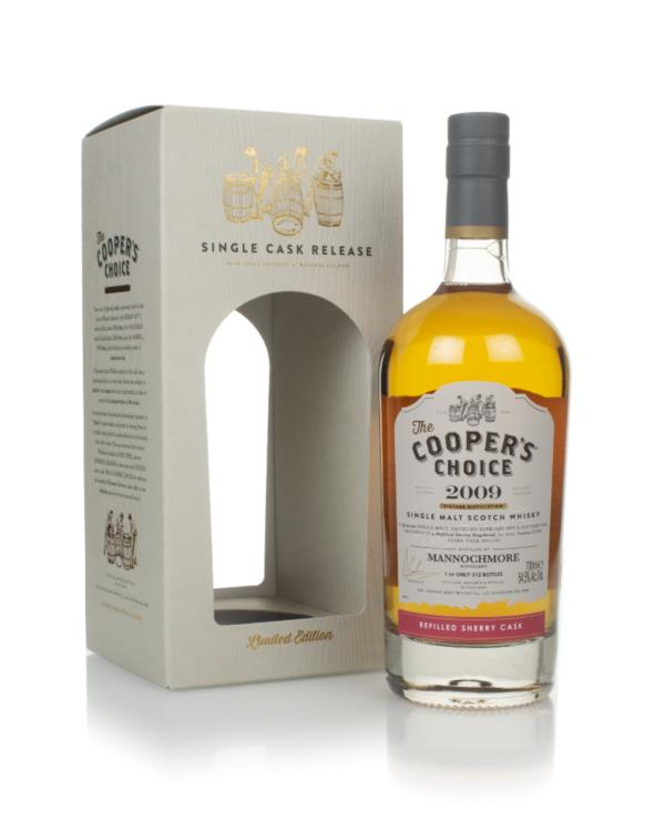 Mannochmore 12 Year Old 2009 (cask 1445) - The  Coopers Choice (The V Single Malt Whisky