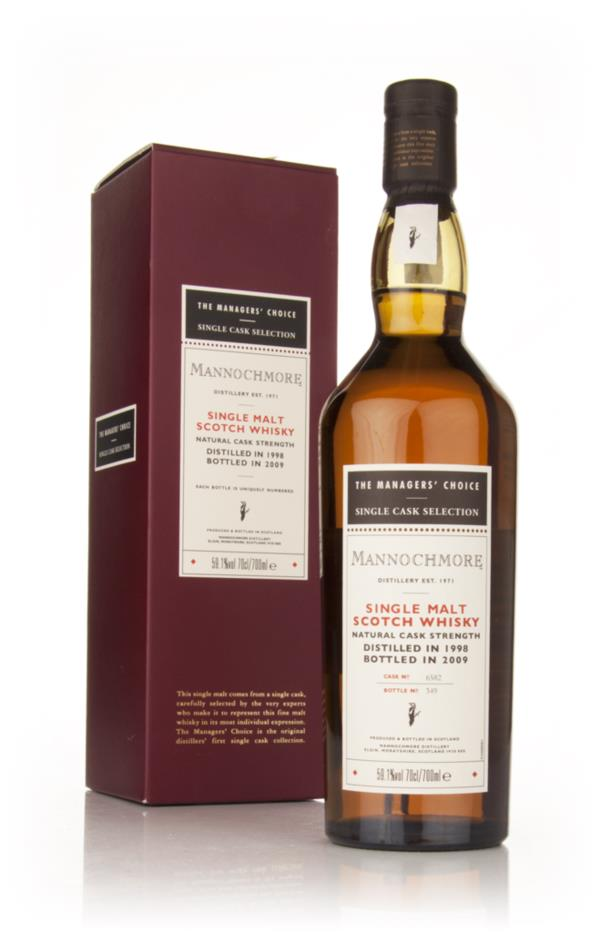 Mannochmore 1998 - Managers Choice Single Malt Whisky