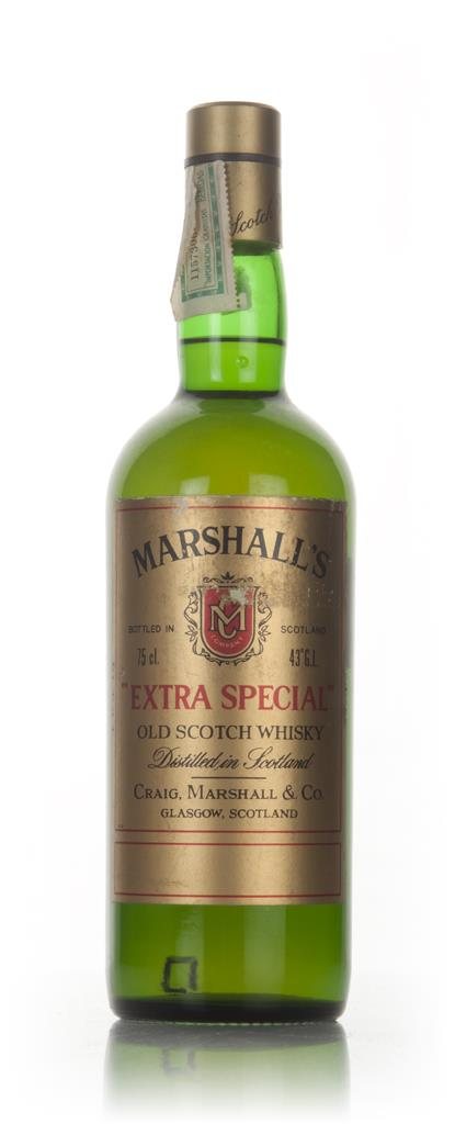 Marshalls Extra Special - 1970s Blended Whisky