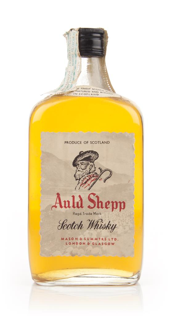 Auld Shepp Blended Scotch Whisky - 1960s Blended Whisky