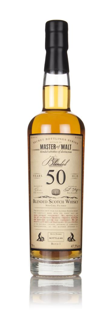 Master of Malt 50 Year Old Blended Scotch Whisky 3cl Sample Blended Whisky