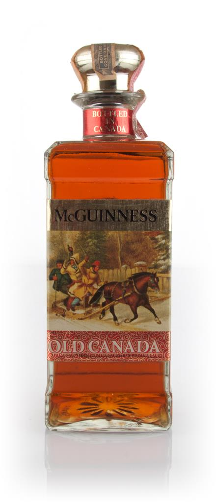 McGuinness Old Canada - 1960s Blended Whisky
