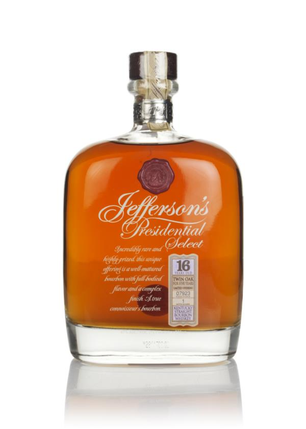 Jeffersons 16 Year Old Presidential Select Bourbon Whiskey