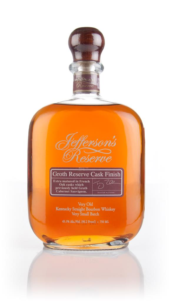 Jefferson'sGroth Reserve Cask Finish Bourbon Whiskey