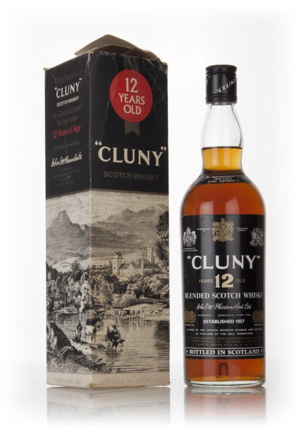 Cluny 12 Year Old - 1970s Blended Whisky