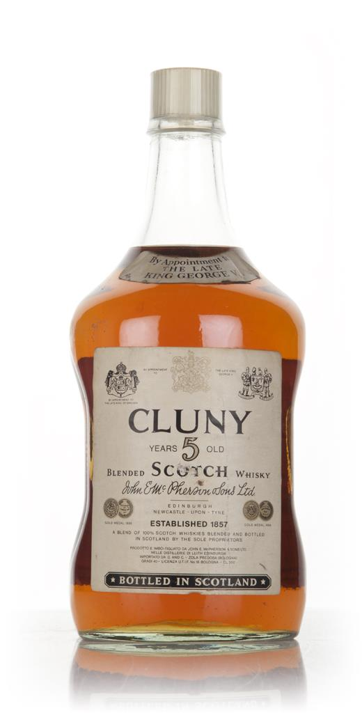 Cluny 5 Year Old (2L) - 1960s Blended Whisky