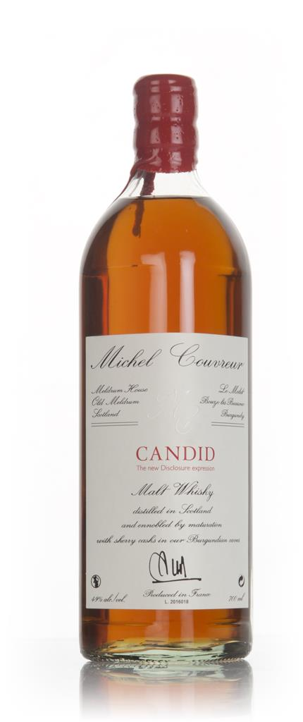Michel Couvreur Candid Malt Whisky 3cl Sample Blended Malt Whisky