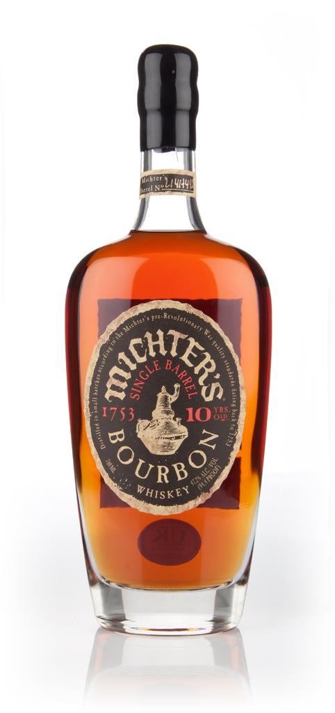 Michters 10 Year Old Bourbon Whiskey