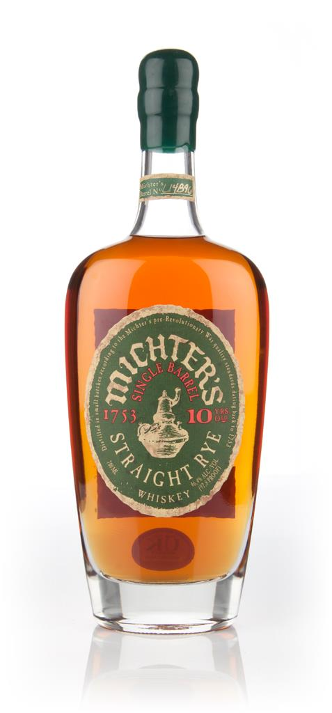 Michters 10 Year Old Rye Whiskey