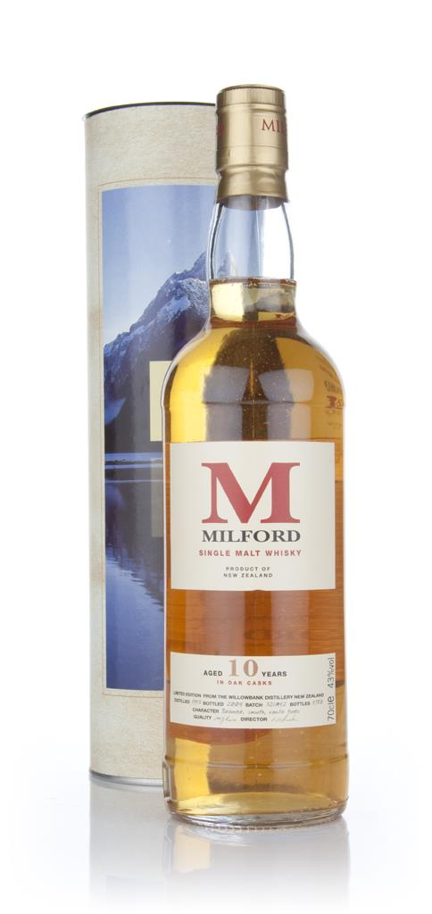 Milford 10 Year Old Single Malt Whisky