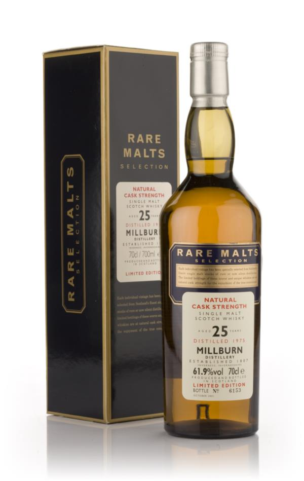 Millburn 25 Year Old 1975 - Rare Malts Single Malt Whisky