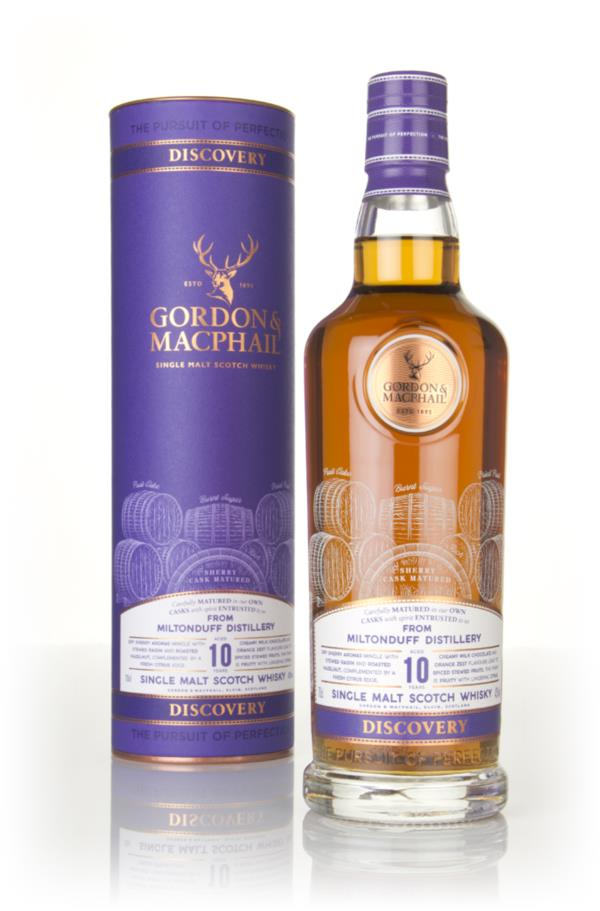 Miltonduff 10 Year Old - Discovery (Gordon & MacPhail) Single Malt Whisky