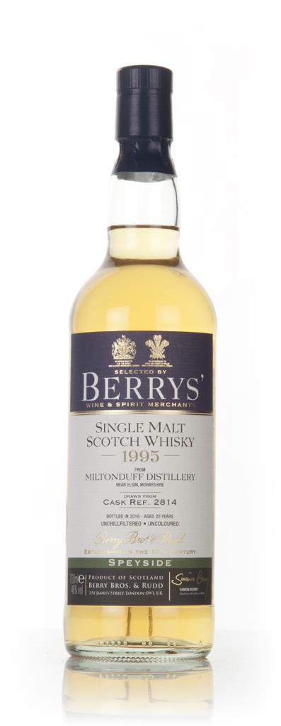 Miltonduff 20 Year Old 1995 (cask 2814) (Berry Bros. & Rudd) Single Malt Whisky