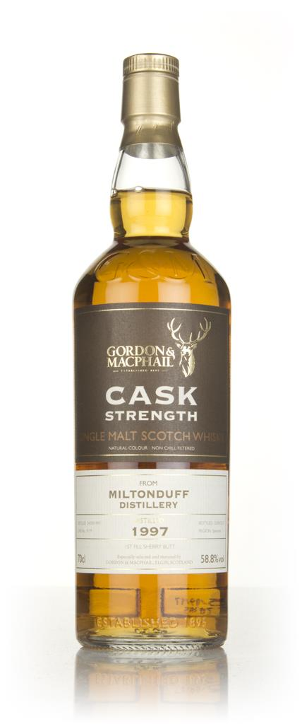 Miltonduff 20 Year Old 1997 (cask 9179) - Cask Strength (Gordon & MacP Single Malt Whisky