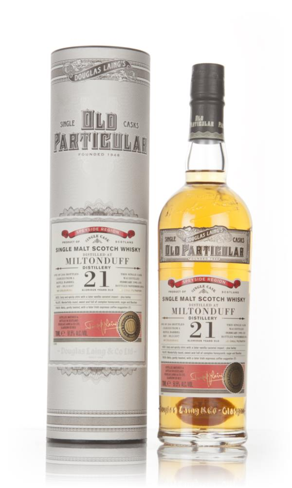Miltonduff 21 Year Old 1995 (cask 11537) - Old Particular (Douglas Lai Single Malt Whisky