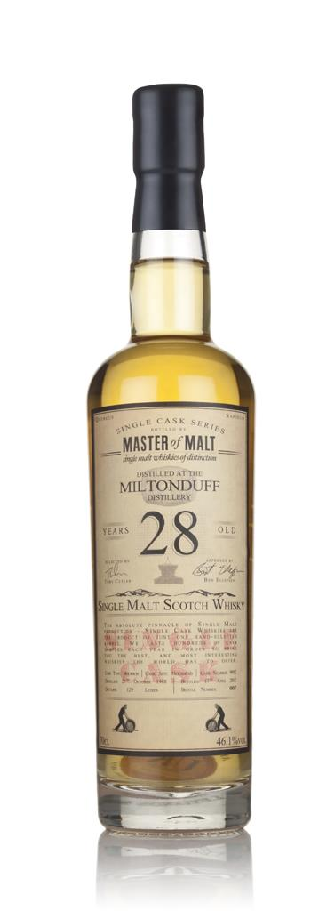 Miltonduff 28 Year Old 1988 - Single Cask (Master of Malt) 3cl Sample Single Malt Whisky