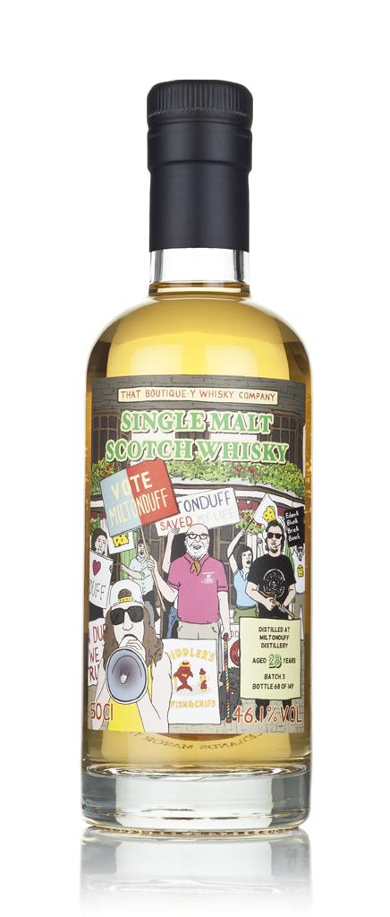 Miltonduff 28 Year Old (That Boutique-y Whisky Company) 3cl Sample Single Malt Whisky