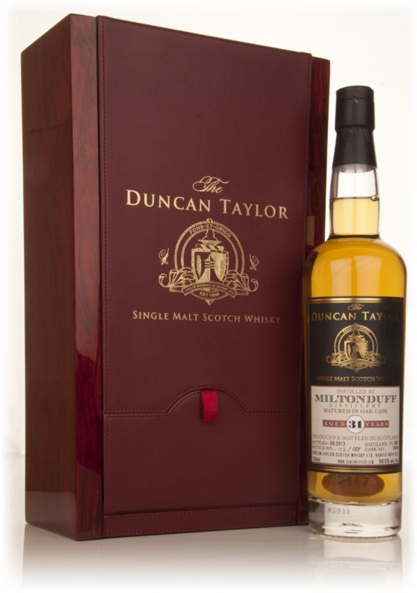 Miltonduff 31 Year Old 1981 (cask 5094) - The Duncan Taylor Single 3cl Single Malt Whisky 3cl Sample