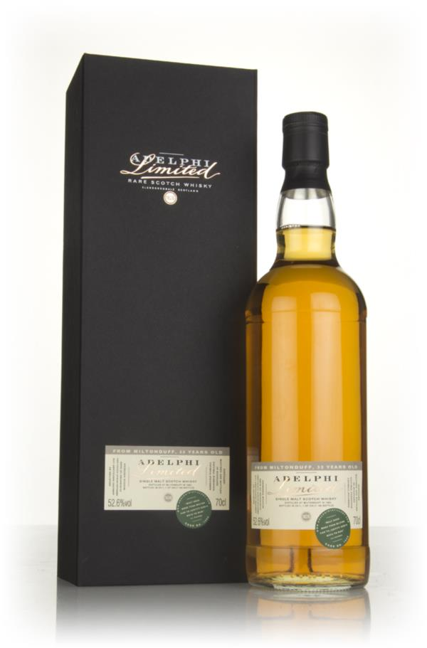 Miltonduff 33 Year Old 1983 (cask 7450) (Adelphi) Single Malt Whisky