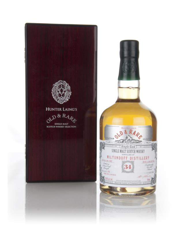 Miltonduff 34 Year Old 1982 - Old & Rare Platinum (Hunter Laing) 3cl S Single Malt Whisky 3cl Sample