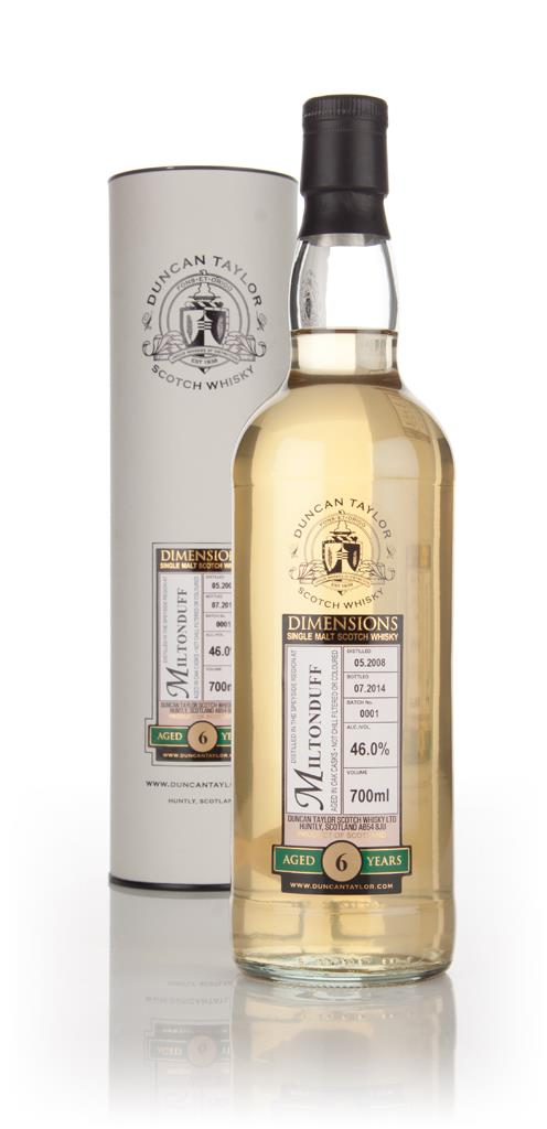 Miltonduff 6 Year Old 2008 - Dimensions (Duncan Taylor) Single Malt Whisky
