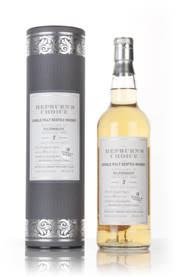 Miltonduff 7 Year Old 2009 - Hepburns Choice (Langside) Single Malt Whisky