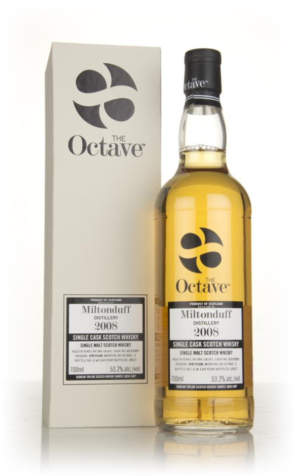 Miltonduff 9 Year Old 2008 (cask 8315993) - The Octave (Duncan Taylor) Single Malt Whisky
