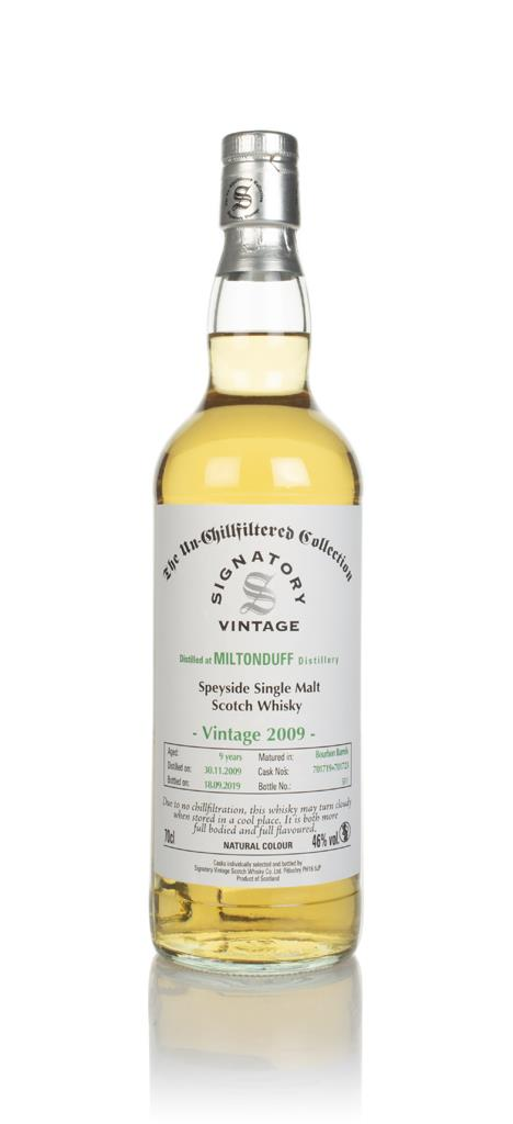 Miltonduff 9 Year Old 2009 (casks 701719 & 701723) - Un-Chillfiltered Single Malt Whisky