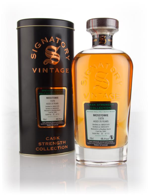 Mosstowie 35 Year Old 1979 (cask 5042) - Cask Strength Collection (Sig Single Malt Whisky 3cl Sample