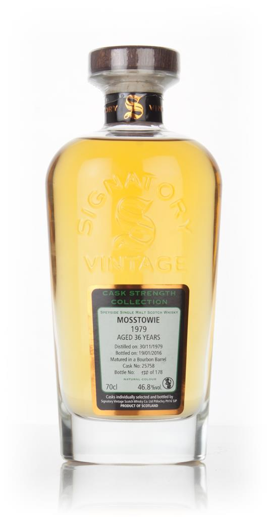 Mosstowie 36 Year Old 1979 (cask 25758) - Cask Strength Collection (Si Single Malt Whisky 3cl Sample