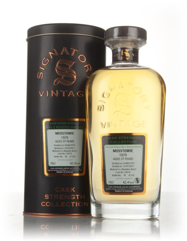 Mosstowie 37 Year Old 1979 (cask 14574) - Cask Strength Collection (Si Single Malt Whisky