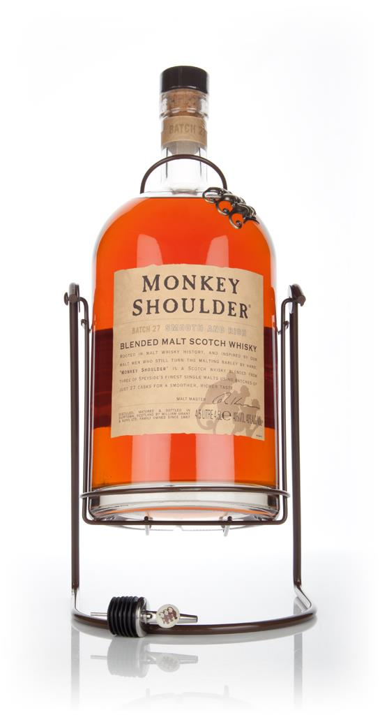 Monkey Shoulder Blended Malt Scotch Whisky - Gorilla Blended Malt Whisky