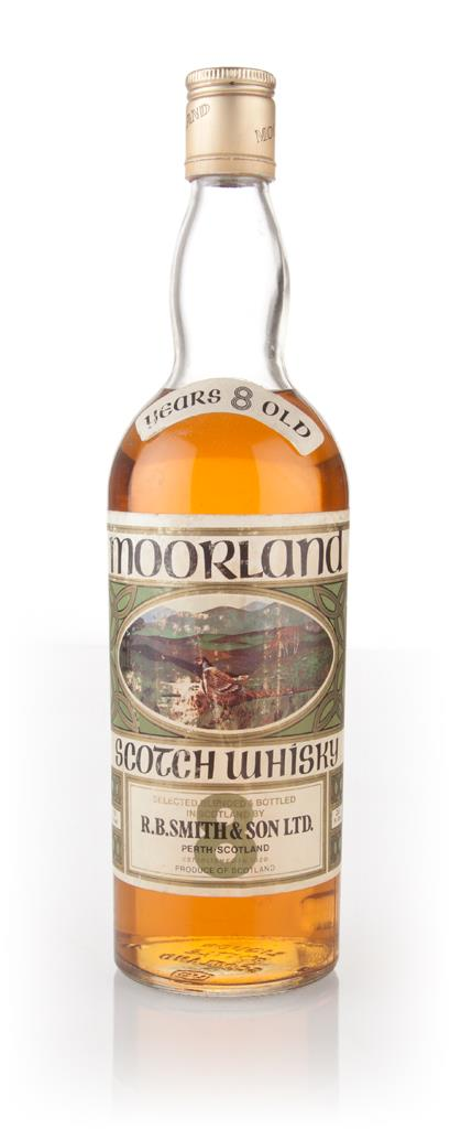 Moorland 8 Year Old - 1970s Blended Whisky