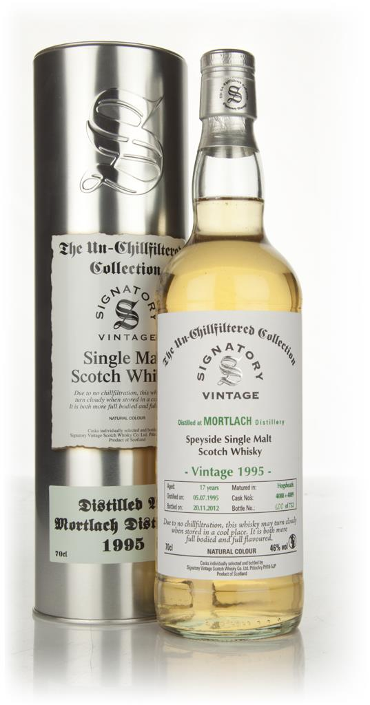 Mortlach 17 Year Old 1995 - Un-Chillfiltered (Signatory) Single Malt Whisky