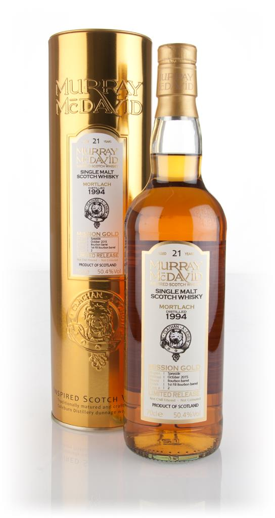 Mortlach 21 Year Old 1994 (cask 2) - Mission Gold (Murray McDavid) 3cl Single Malt Whisky
