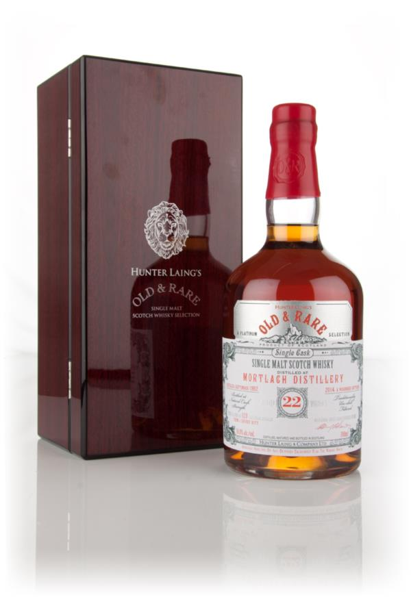Mortlach 22 Year Old 1992 - Old & Rare Platinum (Hunter Laing) 3cl Sam Single Malt Whisky