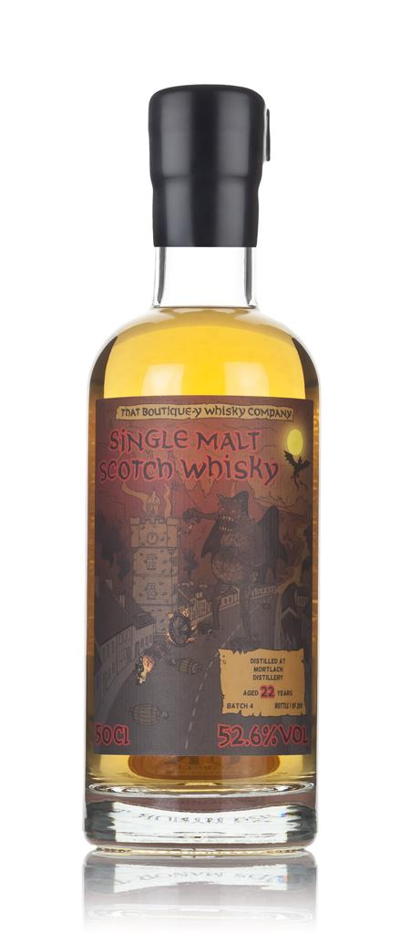 Mortlach 22 Year Old (That Boutique-y Whisky Company) 3cl Sample Single Malt Whisky
