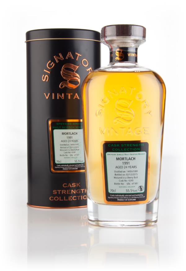 Mortlach 24 Year Old 1991 (cask 4240) - Cask Strength Collection (Sign Single Malt Whisky 3cl Sample